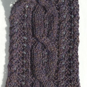 Lace Cable Scarf (Free)