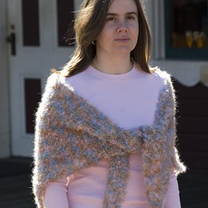 Mohair Loop Shawl (Free)